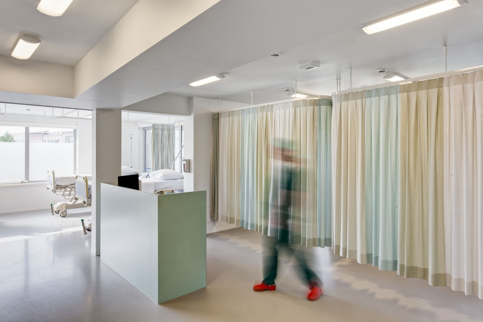 De recovery room van o2 Clinic.