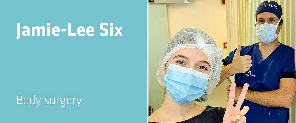 Jamie-Lee Six about her breast augmentation at o2 Clinic Antwerp